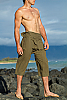 Fisherman Yoga Shorts