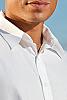 Men's Cotton Short Sleeve White Island Shirt Collar