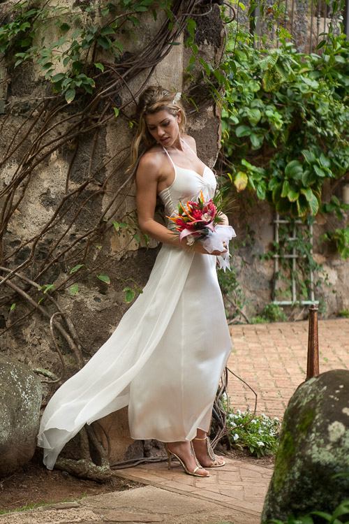Silk Chiffon Wedding Dress Island Importer