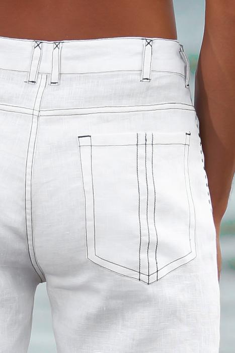 Men's Custom White Linen Suit Beach Weddings & Grooms Jacket