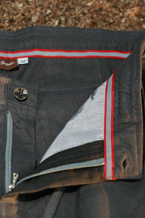 Boy's Linen Gray Dress Pants Beach Wedding Zip-Fly