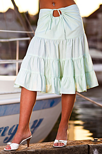 Island Importer - Cotton Sirena Skirt