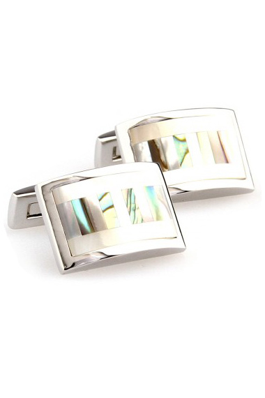 Abalone & Mother of Pearl Cuff Links