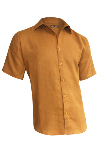 Camel Linen Earth Shirt