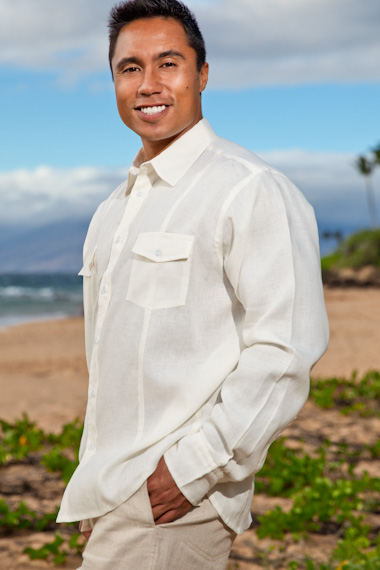 Men's Linen Shirts - Island Importer Beach Weddings