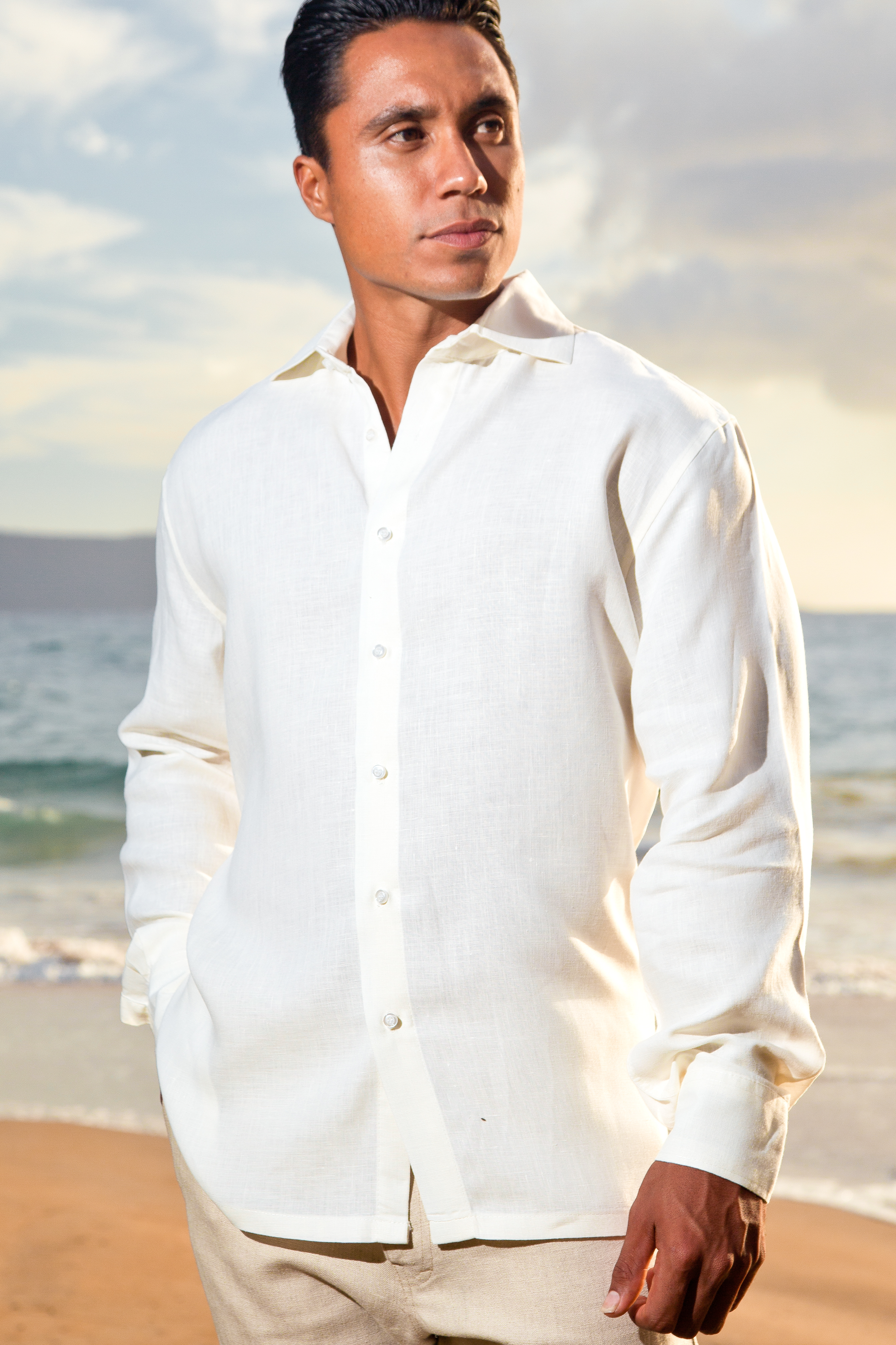 Linen Amalfi Shirt (LS)