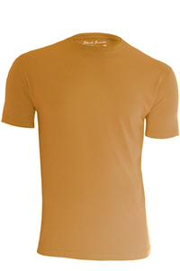 Men's Bamboo & Organic Cotton Blend Deep Yellow T-Shirt