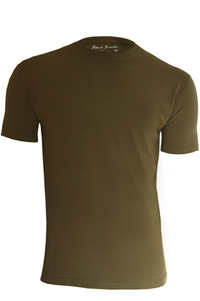 Men's Bamboo & Organic Cotton Blend Earth Green T-Shirt