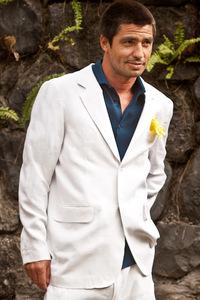 Mens Custom Linen Jacket for Beach Weddings & Grooms